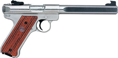Pistola Ruger Mark III Competition Cal.22lr Inox.