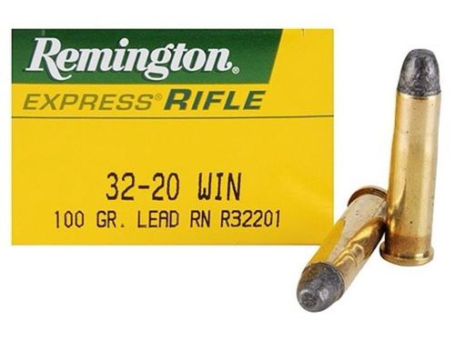 Caixa de 50 Munições Remington Express Rifle Cal.32-20WCF LRN 100gr.