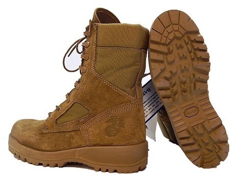 Botas Bates/Belleville USMC Hot Weather Desert Surplus