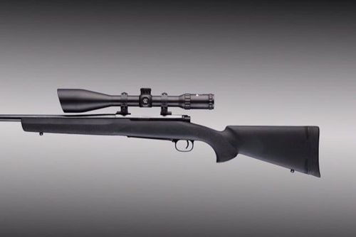 Coronha Hogue Winchester M70 Long Action Borracha