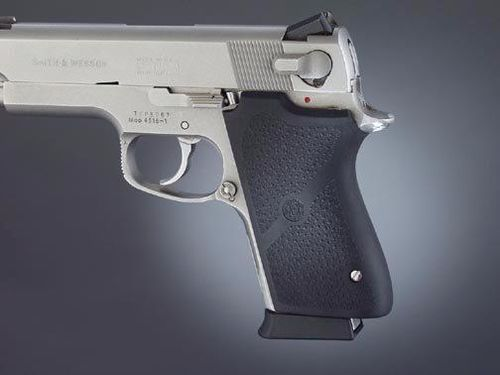 Punho Hogue Smith & Wesson 3rd Gen. Compact Borracha