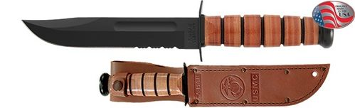 Faca Ka-Bar USMC Serrated Edge