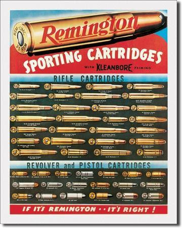 Placa Decorativa Desperate Remington Cartridges