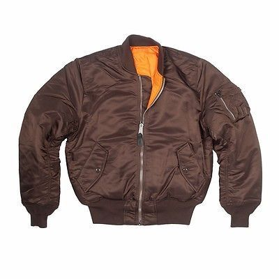 Blusão Alpha Industries MA-1 Flight Jacket Cocoa