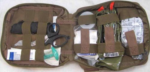 Kit Elite First Aid Enhanced IFAK Level 1 OD Green