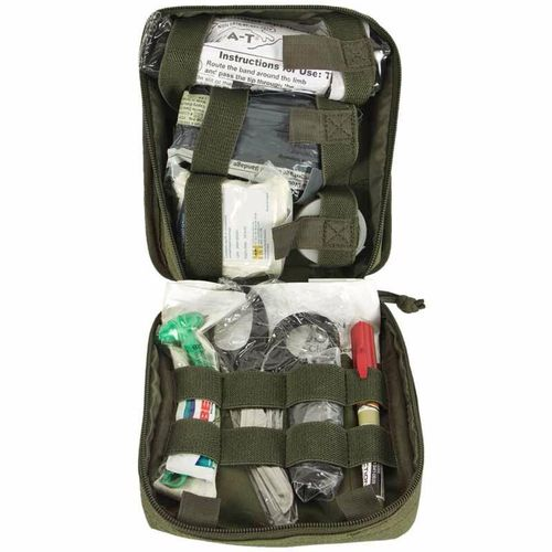Kit Elite First Aid Enhanced IFAK Level 2 OD Green