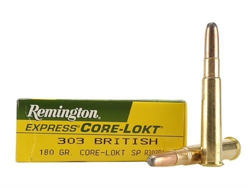 Caixa 20 Munições Remington Cal.303British SP 180gr.