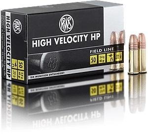 munição calibre 22 hyper