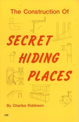 Livro The Construction of Secret Hiding Places