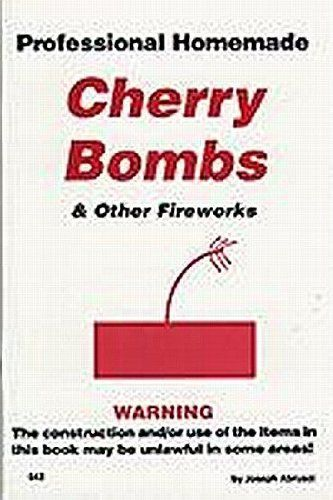 Livro Professional Homemade Cherry Bombs