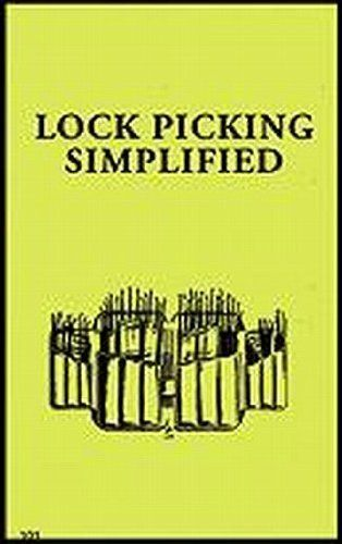 Livro Lock Picking Simplified