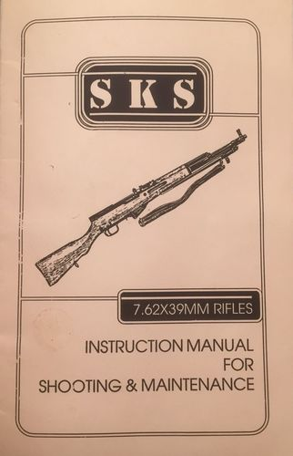 Livro SKS Instruction Manual for Shooting & Maintenance