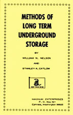 Livro Methods of Long Term Underground Storage