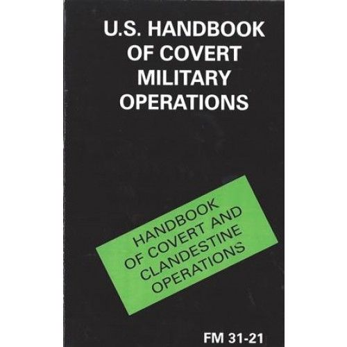 Livro U.S. Handbook of Covert Military Operations