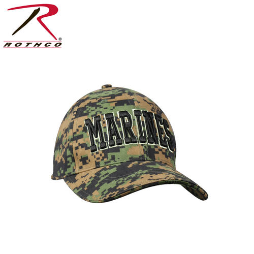 Boné Rothco Marines Lincensed Woodland Digital Camo