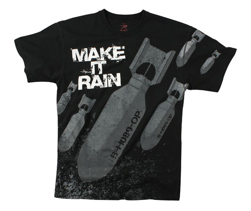 T-Shirt Rothco Make It Rain