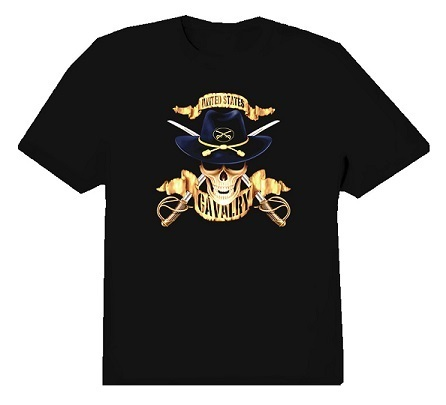 T-Shirt Rothco United States Cavalry