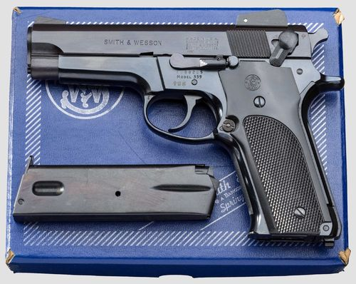 Pistola Smith & Wesson 559 Cal.9x19 Como Nova