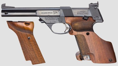 Pistola Hi-Standard Supermatic Citation Cal.22lr Como Nova