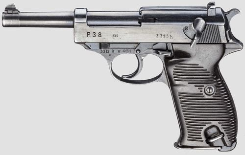 Pistola Walther P38 cyq Cal.9x19
