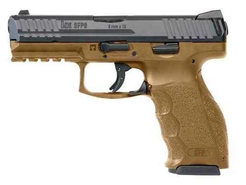 Pistola Heckler & Koch SFP9-SF Cal.9x19 Green Brown