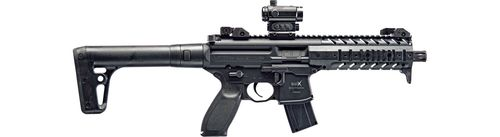 Carabina CO2 Sig Sauer MPX BLK Red Dot Cal.4,5m