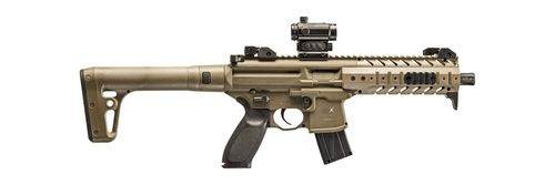 Carabina CO2 Sig Sauer MPX FDE Red Dot Cal.4,5mm