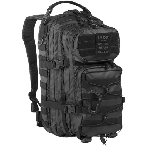 Mochila Mil-Tec Assault Pack Tactical 20L Black
