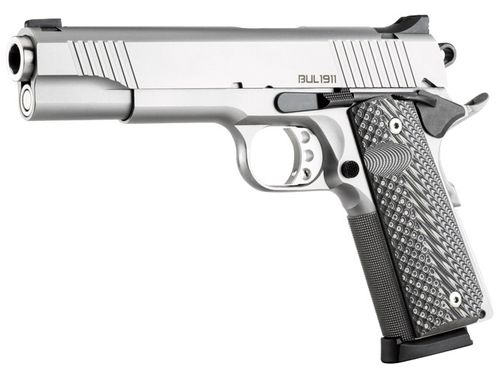 Pistola Bul Armory 1911 Government Cal.9x19 Stainless