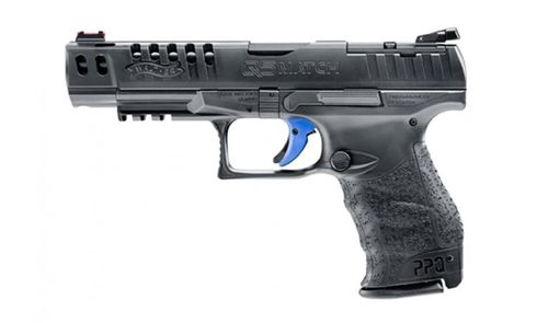 "Pistola Walther Q5 Match Champion 5"" Cal.9x19"