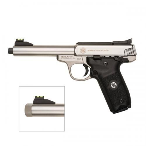 Pistola Smith & Wesson SW22 Victory Threaded Cal.22lr