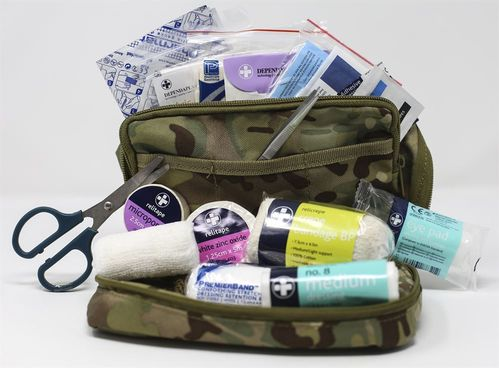 Bolsa 1º Socorros BCB Military First Aid Kit